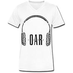 SR BIG boy's O.A.R. fashion tour men's t shirt White XL