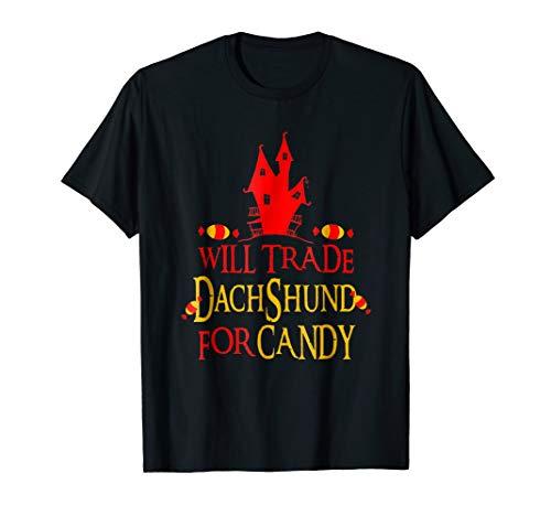 Halloween Costume Dachshund Dog Tshirt Funny Gift