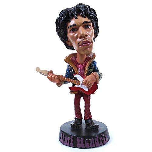 Jimi Hendrix Collectible: 2014 Drastic Plastic Limited Edition Bobble Head Figure