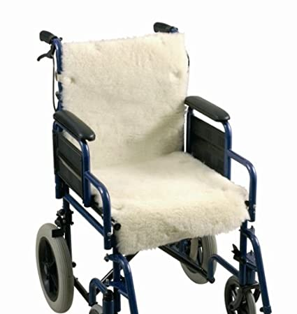 Ability Superstore - Funda de lana para silla de ruedas (poliéster, 61 x 76