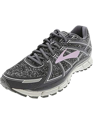 Brooks Women's Adrenaline GTS 17 Black/Hawaiian Ocean/Lime Punch 5 B US