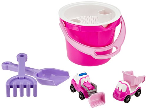 Set Bucket Princess (Dantoy 1432 Kids Little Princess Bucket Set)