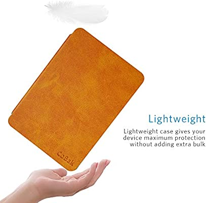 Purple Glitter Slim Fit Premium PU Leather Smart Cover with Auto Sleep Wake Feature for Kindle Oasis 9th 10th Generation CoBak Kindle Oasis Case
