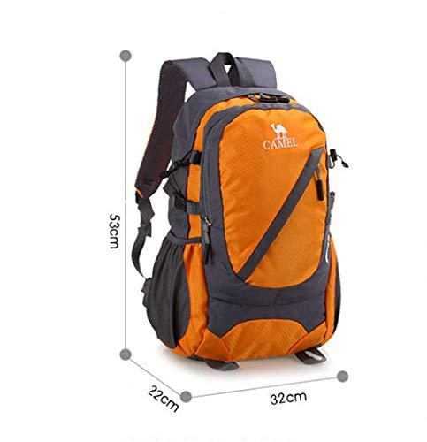 Grande Green Homme Pour Voyage Dos Capacité Orange Sacs Et Plein Sac Air Trekking À Rouge Bandoulière En Femme Loisir De Sport xqRSwA7aq