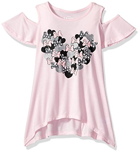 Disney Big Girls' Minnie Mouse Cut Out Top