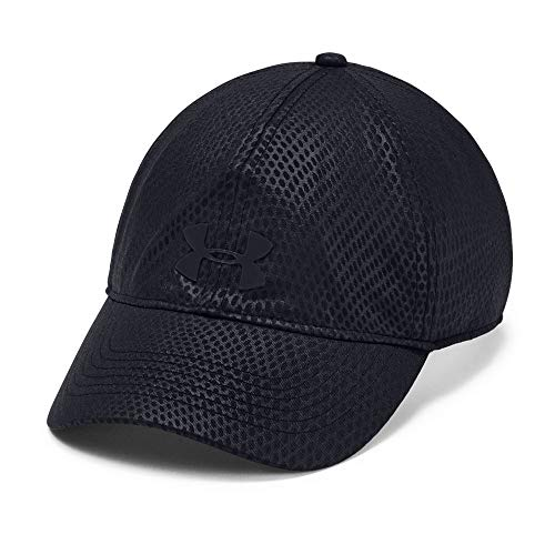(Under Armour Women's Renegade Printed Cap, Black//Black, One Size Fits All Fits All)