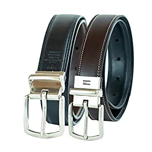 Tommy Hilfiger Boy's Reversible Dress Belt