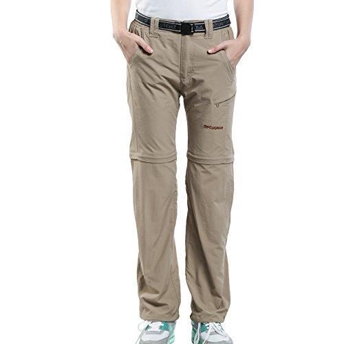 FLYGAGA Women's Outdoor Quick Dry Convertible Lightweight Hiking Fishing pants