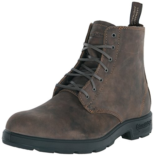 Blundstone 1450 - Classic Lace Up Nubuck Stivali Unisex – Adulto Marrone brown