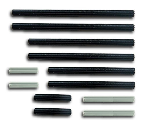 LEGO 12pc Technic axle set (3M 4M 5M 8M 10M 12M Mindstorms nxt robot (Axle Parts Set)