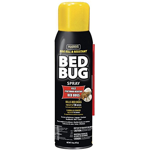 Harris BLKBB-16A Bed Bug Spray, White from Harris