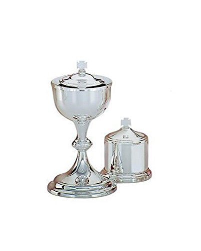 Christian Brands Church Supply SB179-1SP Silver Plated Ciborium by Christian Brands Church Supply