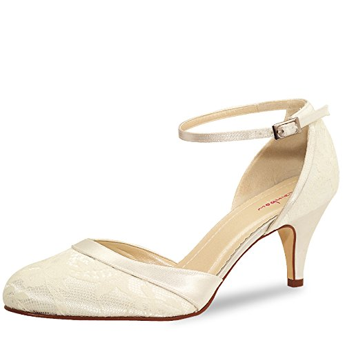 Donna Elsa Coloured Shoes scarpe col tacco avorio
