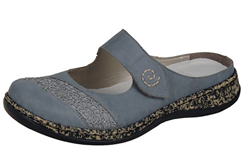 Rieker 46303 - 12 Adria Blue (Synthetic) Womens Shoes 42 EU