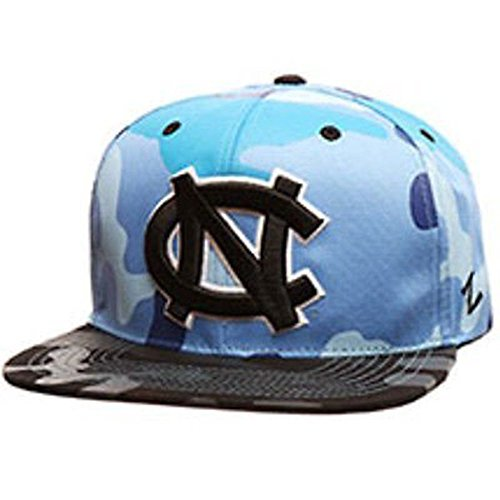 North Carolina Tar Heels Zephyr Camo Snapback (North Carolina Tar Heels Camo)