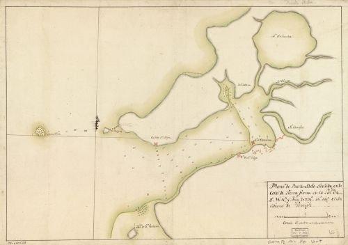 1700 Map Plano de Puerto Belo situado en la costa de Tierra Firme en la latd. de 9?18?N. y lomgd. - Costa Online Coupons