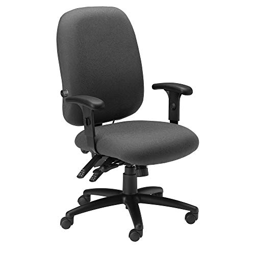 Mayline 2424AG2110 Comfort Series Big & Tall 24-Hour Chair, Blue