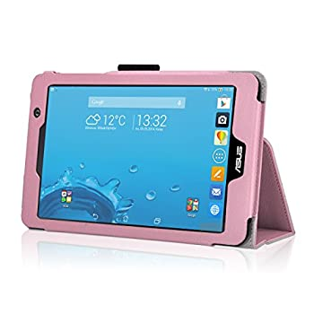 Exact Asus Memo Pad 7 Me176cx Case [Pro Series] - Professional Folio Case For Asus Memo Pad 7 (Me176cx) Light Pink 4