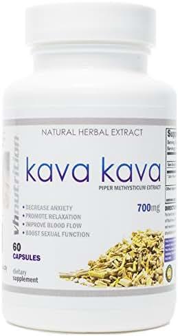 Kava Kava | 700mg Capsules | Piper Methysticum Extract | 60 Day Supply