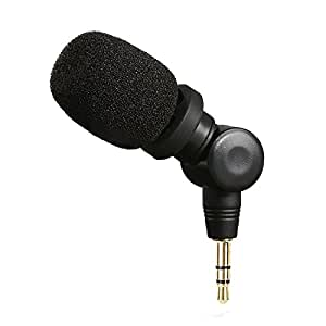 Saramonic SR-XM1 3.5mm TRS Omnidirectional Microphone Plug and Play Mic for DSLR Cameras Camcorders CaMixer SmartMixer LavMic SmartRig+ and UWMIC9/10/15 Wireless Microphone Systems