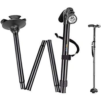Amazon Com Short Cane Self Standing Cane With 4 Feet