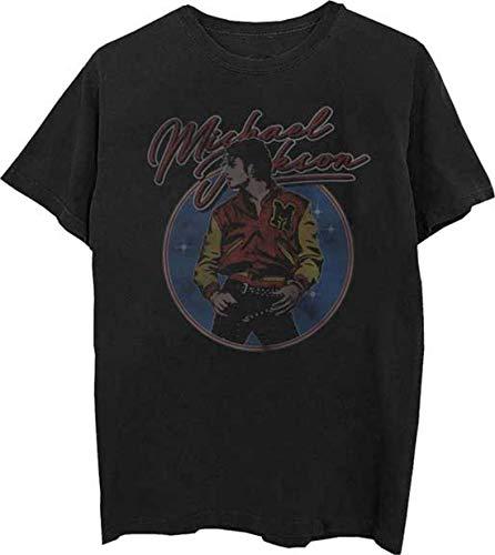 - Michael Jackson Thriller Varsity Jacket T-Shirt New