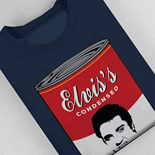 Soup Soup Soup Women's Navy Coto7 Sweatshirt Sweatshirt Sweatshirt Jailhouse Campbell blue Elvis Presley Broth CYYqtwp