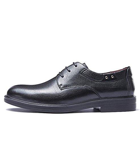 Business Hommes Dentelle Mode Non LEDLFIE Black Formalwear Slip Jeunesse Chaussures vqnHwda