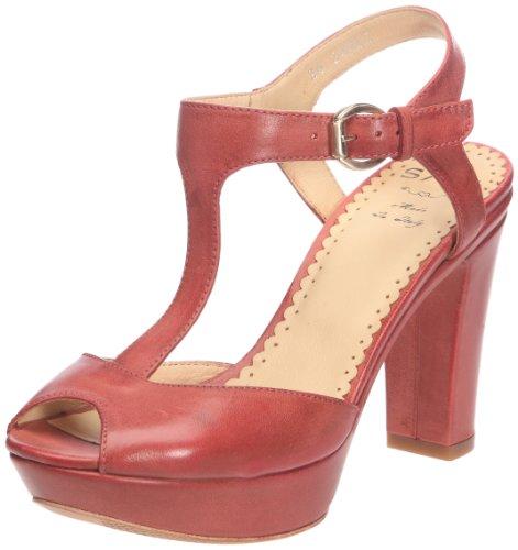 Sax 24403 24403, Damen Sandalen Rot