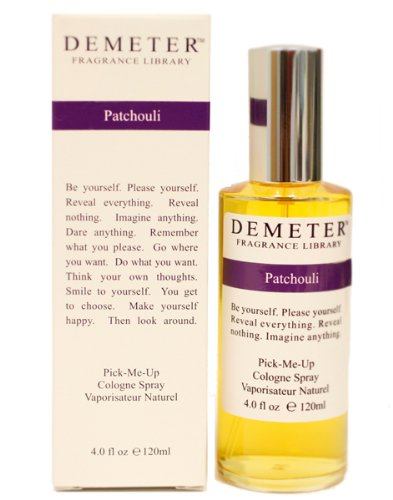 Patchouli By Demeter For Women. Pick-me Up Cologne Spray 4.0 Oz DEM31W