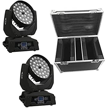 Amazon.com: Eyourlife 8pcs 8X10W LED RGBW DMX 512 Stage ...