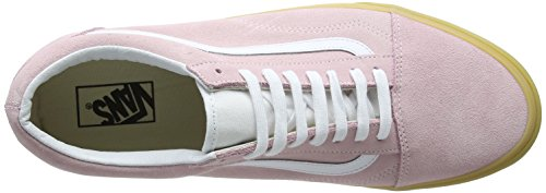 Vans Unisex Adults' Old Skool Trainers Pink ((Double Light Gum) Chalk Pink Qk7) jzLU0