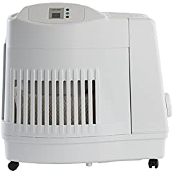 AirCare MA1201 Whole-House Console-Style Evaporative Humidifier, White