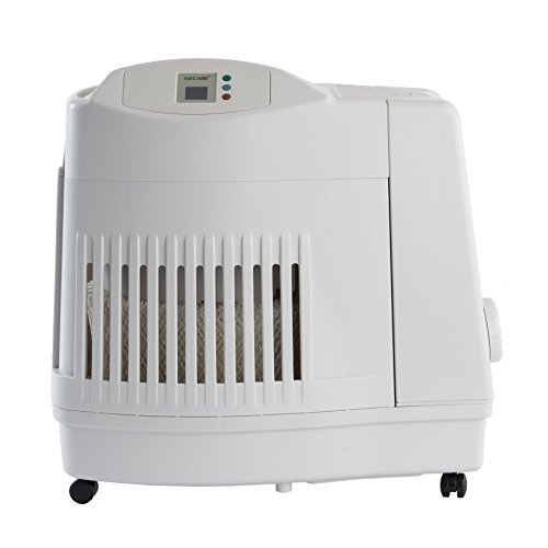 AIRCARE MA1201 Whole-House Console-Style Evaporative Humidifier, White (Best Whole Room Humidifier)