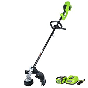 Greenworks 14-Inch 40V Cordless String Trimmer (Attachment Capable), 4.0 AH Battery Included 21362