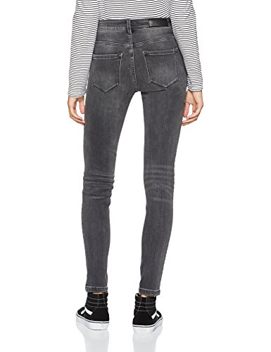 Denim Medium Denim Vaqueros Mujer Medium Grey para Vero Moda Slim Gris Grey Zqx44f
