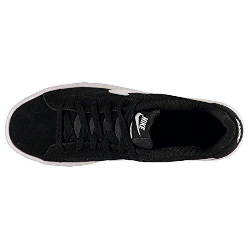 Nike Court Royale Wildleder Turnschuhe Herren Schwarz/Weiß Casual Sneakers Schuhe Schuhe