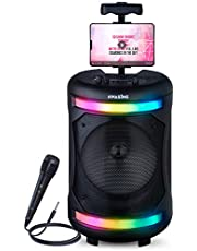 $94 » Karaoke Machine for Adults and Kids, Bluetooth Portable Singing PA Speaker System. Best Birthday Gift for Boys & Girls