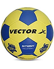 Vector X Smash Volleyball, 32 Panels - Yellow and Blue
