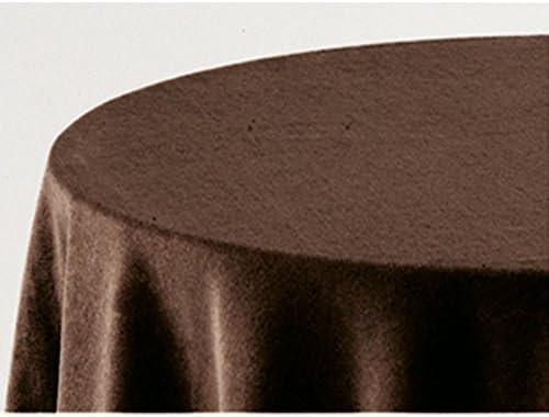 Falda para Mesa Camilla Modelo Deluxe 793, Color Chocolate 709 ...