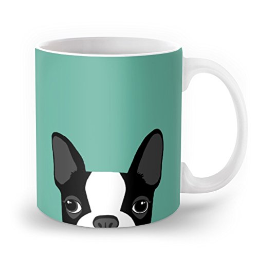 Society6 Boston Terrier Mug 11 oz
