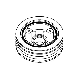 AR57241 Crankshaft Dampener Pulley For John Deere