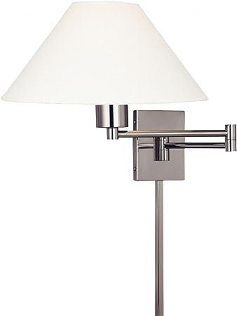 George Kovacs P4358 1 603 One Light Swing Arm Wall Lamp Amazon Com