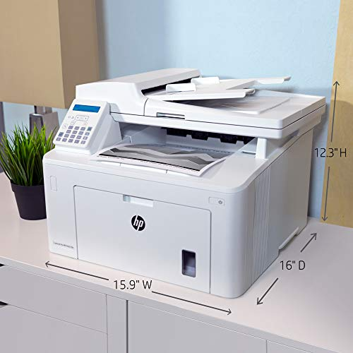 HP LaserJet Pro M227fdn All in One Laser Printer with Print Security, Amazon Dash Replenishment ready (G3Q79A). Replaces HP M225dn Laser Printer by HP (Image #2)