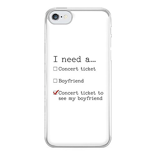Concert Ticket To See My Boyfriend Phone Case - Hard Plastic, Snap On Cell Phone Cover - iPhone, iPod & Samsung - Fun Cases - Galaxy J5 - Case Ipod Liam Payne