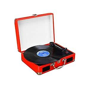 Gramófono Reproductor De Discos De Vinilo, Tocadiscos De Maleta ...