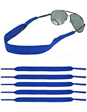 LOVAC Men/Women Sunglass Straps, Safety Eyewear Retainer, Premium Neoprene Material - Ideal for Sports & Outdoor Adventures, Fit Most Glasses,5pack