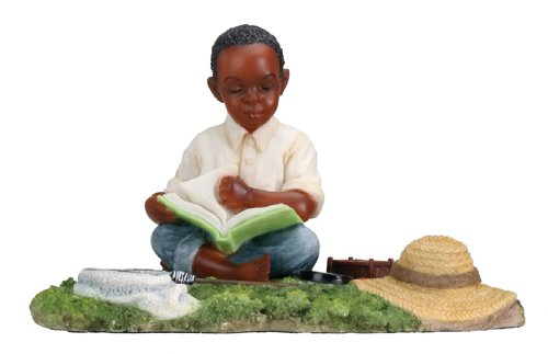 Reading - Collectible Figurine Statue Sculpture Figure Model Kids