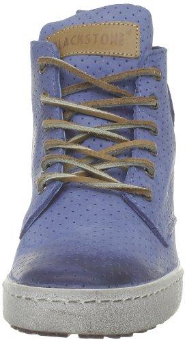 Blackstone Perforated High, Women's Hi-Top Sneakers Blue - Blau (Sky Blue)