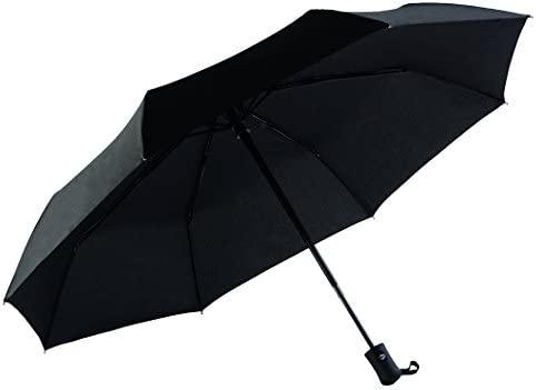Ecourban 60 mph Paraguas a Prueba de Viento No rompible 10 Costillas con 210T BG, Vida de reemplazo garantizado Compact Travel Auto Open Close ...